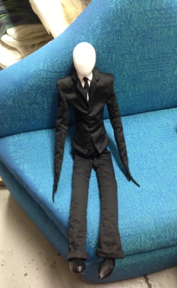 Slenderman prototype doll
